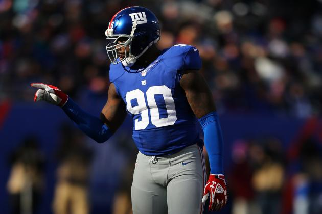 Offseason New York Giants Player Power Rankings