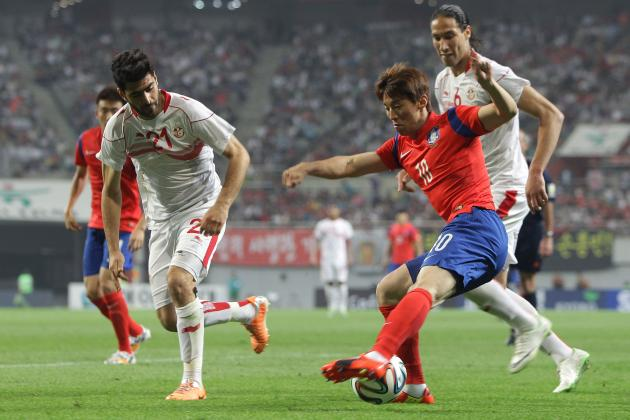 South Korea vs. Tunisia: 6 Things We Learned