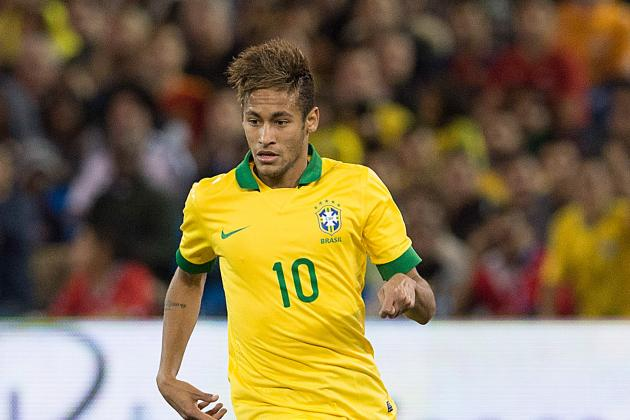 Barcelona Forward Neymar's Top 6 Brazil Moments