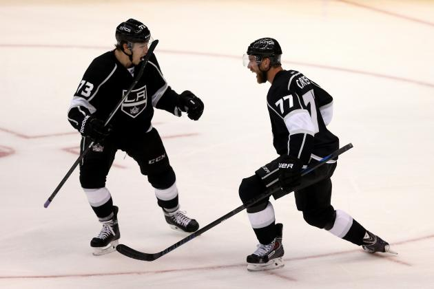 Western Conference Final Grades for Each Los Angeles Kings Line