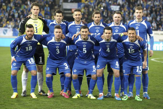 How Bosnia-Herzegovina Will Line Up vs. Ivory Coast