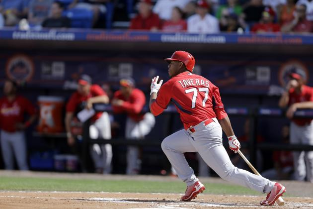 Top Prospect Oscar Taveras Driving Rumors Around St. Louis Cardinals