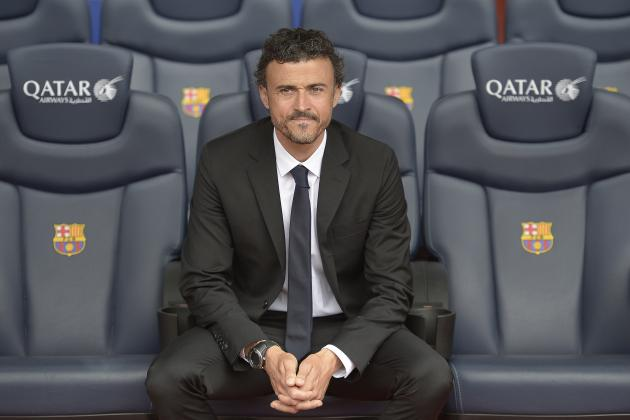 5 Big Decisions for New Barcelona Coach Luis Enrique