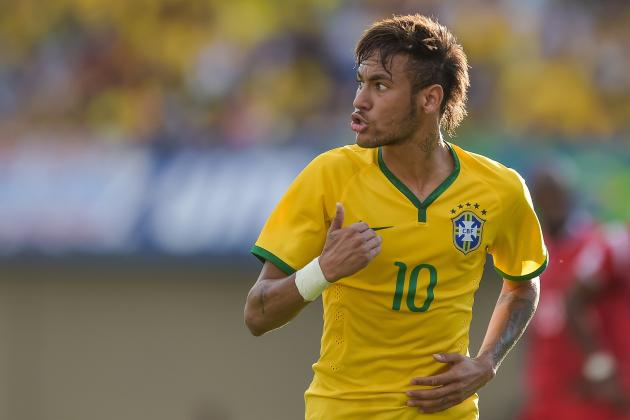 Neymar's Masterclass and the Top 5 Players from Around the World This Week