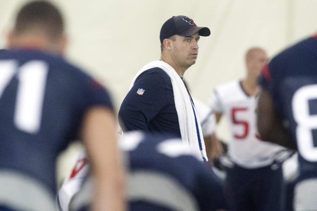 Houston Texans: Early Rookie Progress Reports