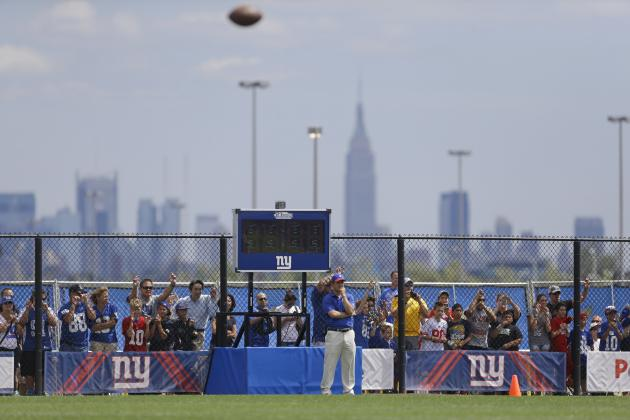 New York Giants: 5 Players Whose Stock Is on the Rise After Week 1 of OTAs