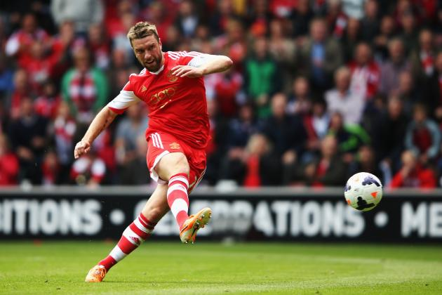 Rickie Lambert: Charting the Rise and Rise of New Liverpool Signing