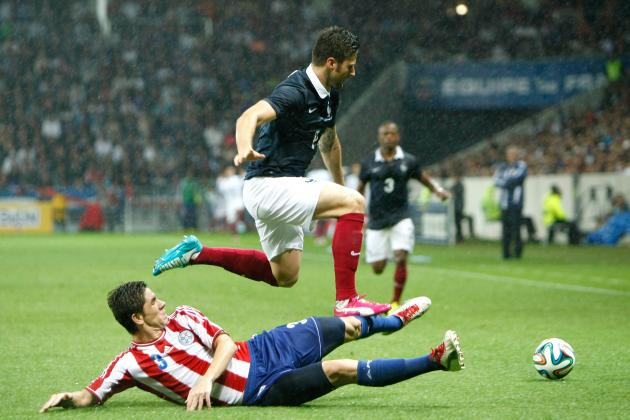 France vs. Paraguay: 6 Things We Learned