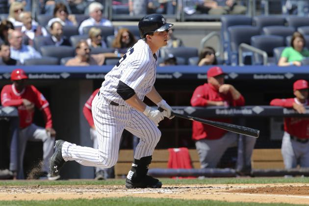 Stock Up, Stock Down for New York Yankees' Top 10 Prospects for Week 9