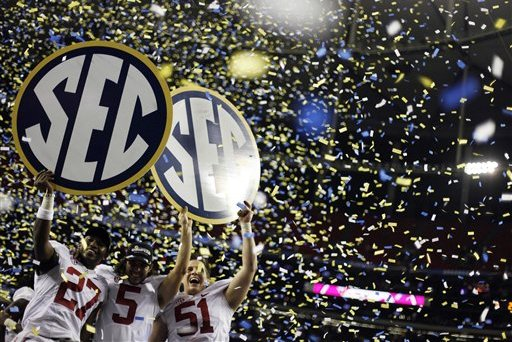 SEC Football: Ranking the 5 Teams with the Best Chance to Win Conference