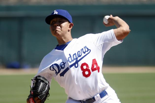 Stock Up, Stock Down for Los Angeles Dodgers' Top 10 Prospects for Week 9