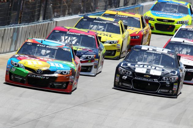 2014 NASCAR Sprint Cup Driver Rankings: Week 14 Edition