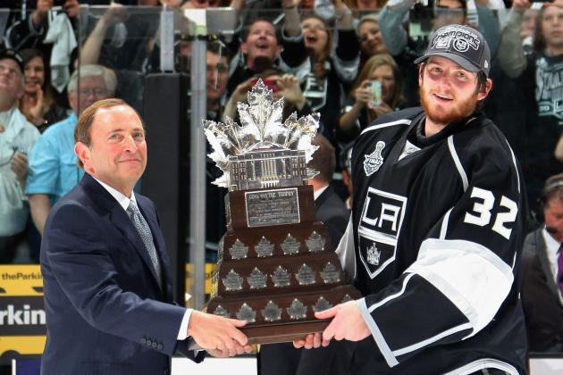 Conn Smythe Odds Entering the 2014 Stanley Cup Final Between Kings and Rangers