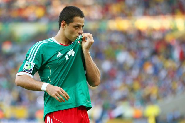 5 Top Mexican Moments for Manchester United's Javier Hernandez