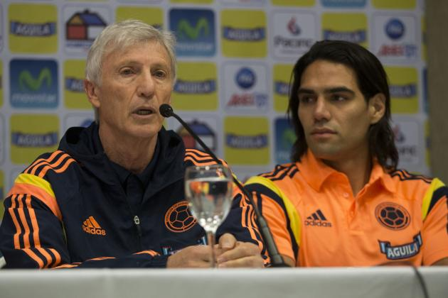 Radamel Falcao and the World Cup Squad from Culled Player Lists