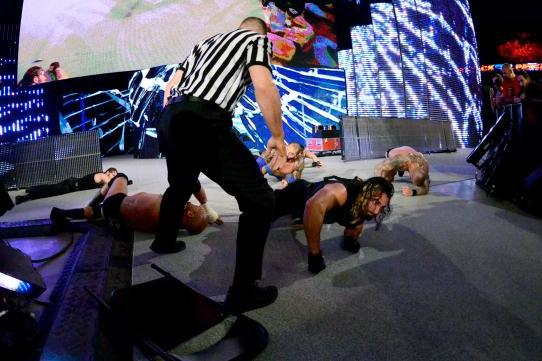 WWE Payback 2014: Craziest Spots from Latest PPV Event