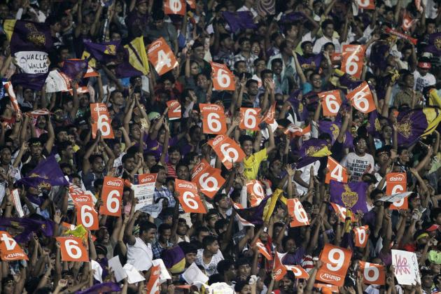 The 2014 IPL in Numbers and Stats: From Zero to 6,000 in IPL 7