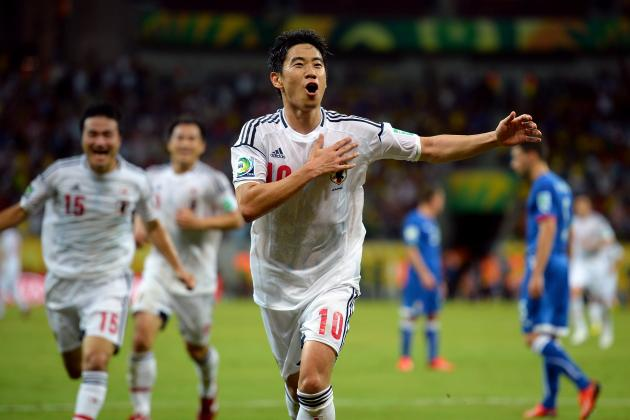 Top 5 Moments for Shinji Kagawa Playing for Japan