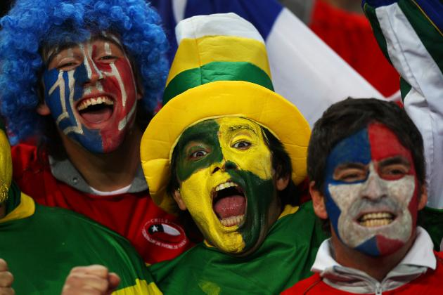 Ranking All 32 Nations' Fanbases at 2014 World Cup