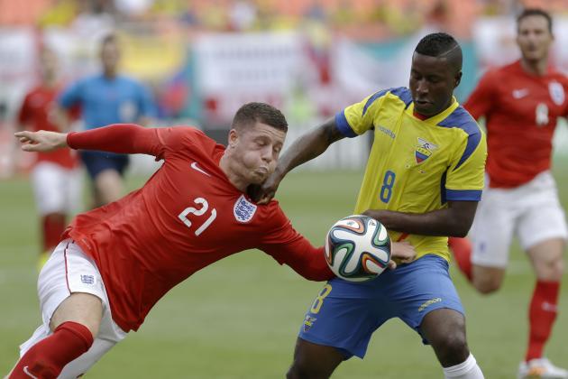 England vs. Ecuador: 6 Things We Learned