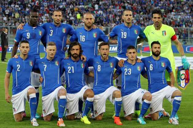 Italy's national football team in 2014