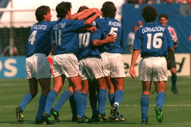 Picking Italy's All-Time Greatest World Cup XI