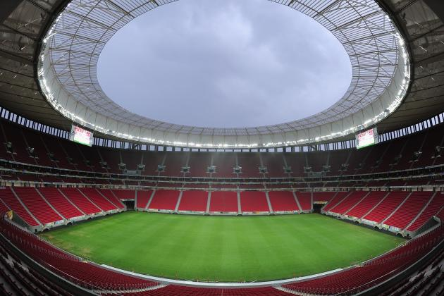 Power Ranking the 2014 FIFA World Cup Stadiums