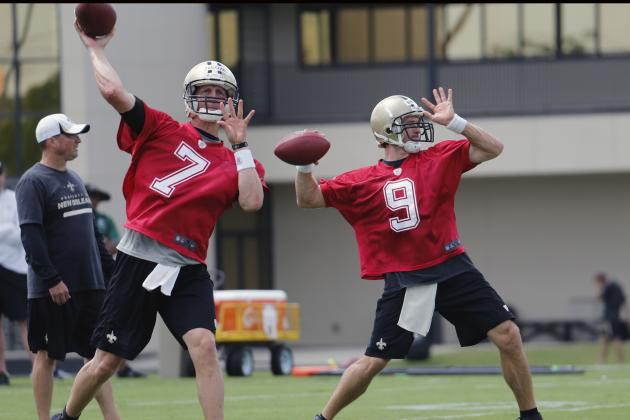 New Orleans Saints Position Breakdown and Depth Chart Analysis at Quarterback