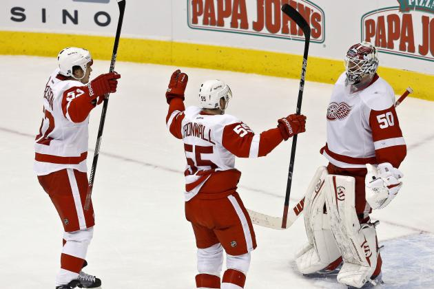 Projecting Detroit Red Wings' Defensive Pairings in 2014-15 NHL Season