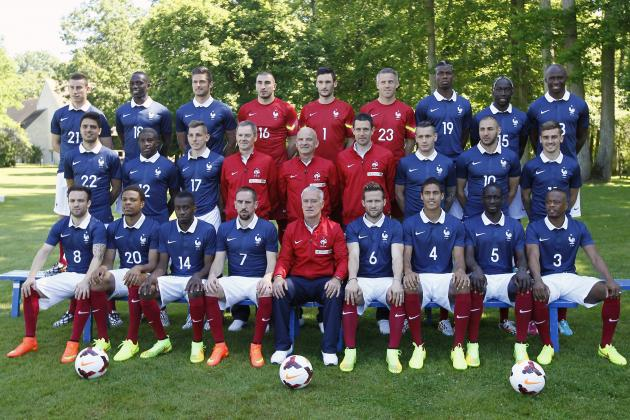 Ranking France's World Cup Squad Player-by-Player