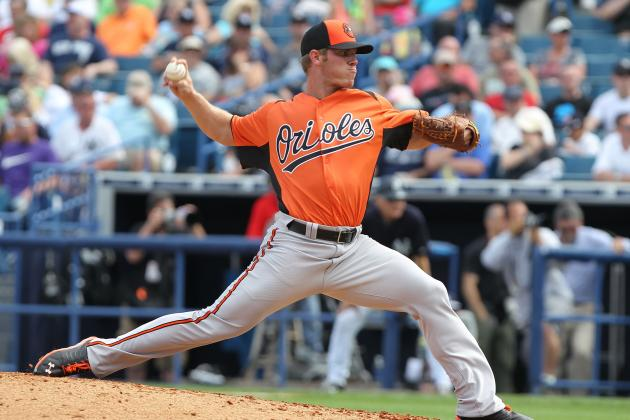 Stock Up, Stock Down for Baltimore Orioles' Top 10 Prospects for Week 9