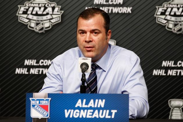 Changes Alain Vigneault Should Make to Give New York Rangers Edge in Game 2