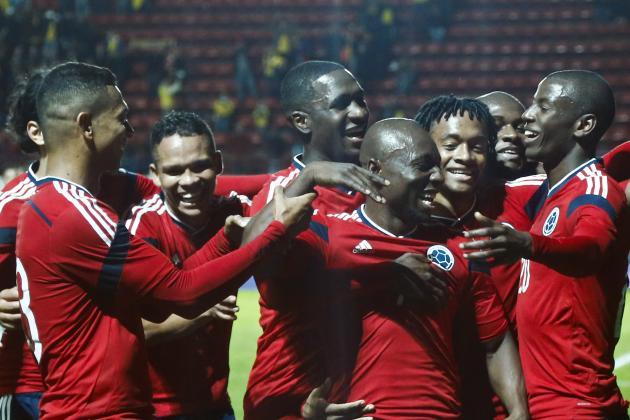 Colombia vs. Jordan: 6 Things We Learned