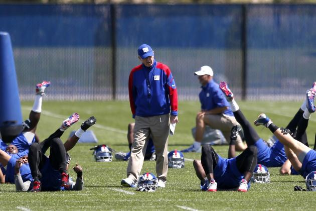 5 New York Giants Who've Turned Heads in Offseason Workouts