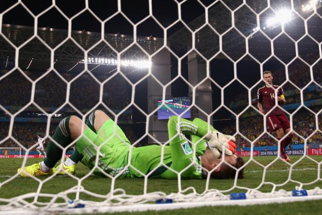 Igor Akinfeev and 10 Biggest Goalkeeper World Cup Blunders of All Time