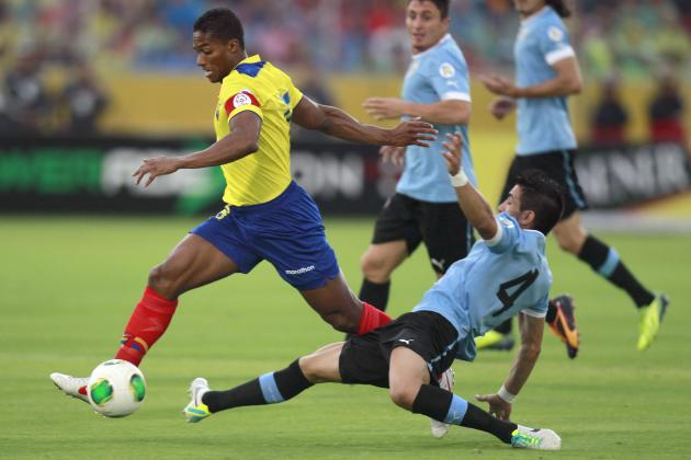 5 Memorable Moments for Antonio Valencia and Ecuador