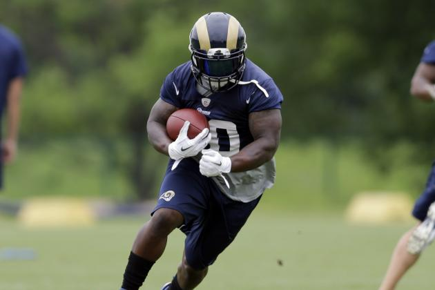 St. Louis Rams: Full Position Breakdown and Depth Chart Analysis at Running Back