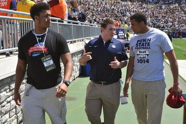7 Recruits Who Could Join 4-Star OT Sterling Jenkins at Penn State