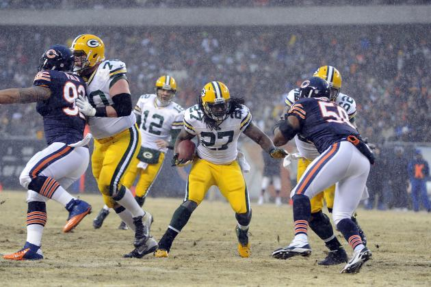Green Bay Packers: Full Position Breakdown, Depth Chart Analysis at Running Back