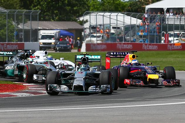 Power Ranking the Formula 1 Teams After 2014 Canadian Grand Prix