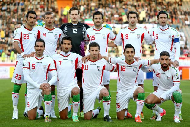 World Cup 2014: How Iran Will Line Up Against Nigeria