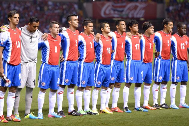 Key Battles That Will Shape Costa Rica's World Cup Clash with Uruguay