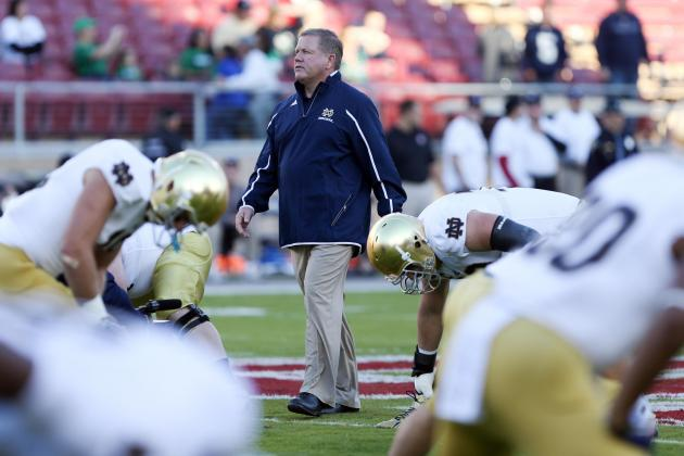Notre Dame Football: Projecting the Irish's Starting Lineup