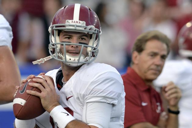 Power Ranking: The Best Quarterbacks to Play for Nick Saban