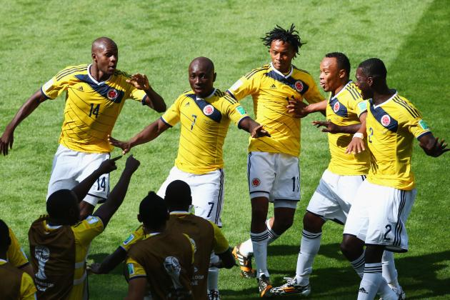 10 Great World Cup Goal Celebrations
