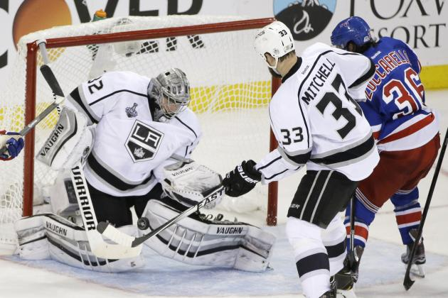 The Los Angeles Kings' Road to the 2014 Stanley Cup