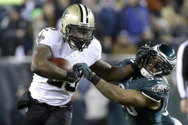 New Orleans Saints Position Breakdown and Depth-Chart Analysis at Running Back