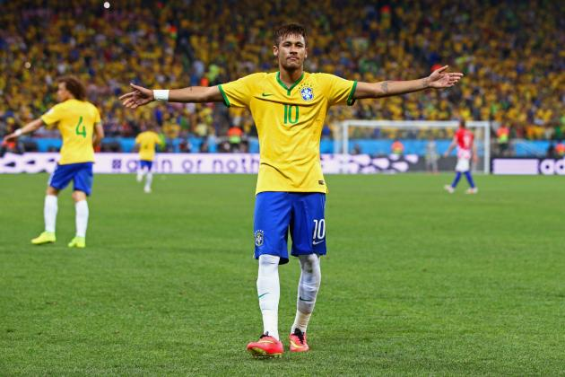 World Cup 2014: Best XI of Day 1 with Neymar, Oscar and Ivica Olic