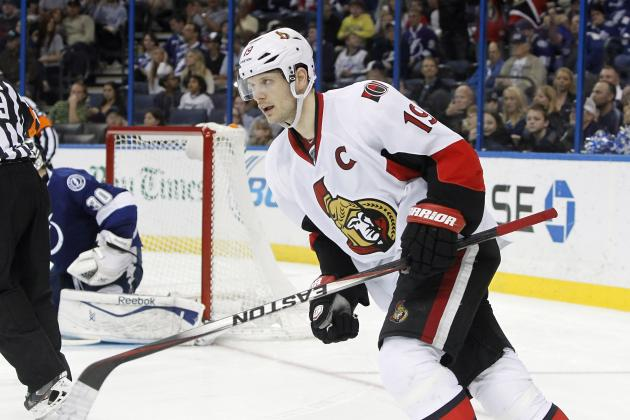 Ranking the Best Landing Spots for Ottawa Senators Captain Jason Spezza