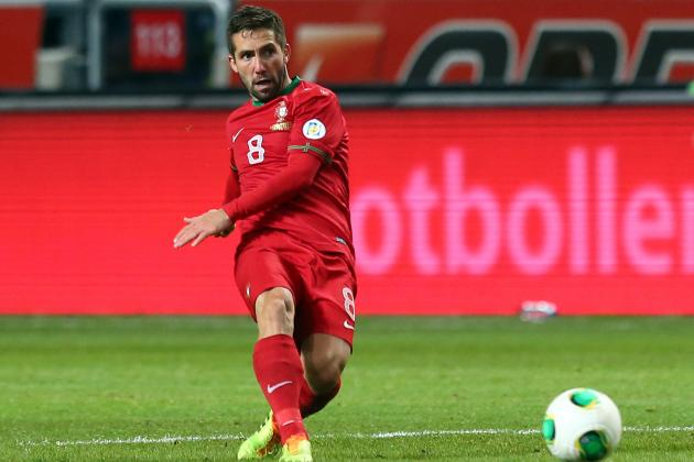 Why Joao Moutinho Is Under Most Pressure for Portugal at the World Cup